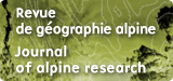 Journal of Alpine research/Revue de géographie alpine